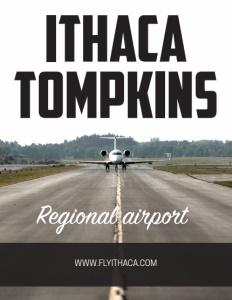 Ithaca Tompkins brochure cover.