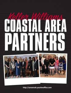 Keller Williams Realty Coastal Area Partners brochure cover.