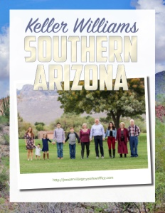 Keller Williams Southern Arizona brochure cover.