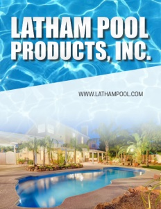 Latham Pool Products Inc. brochure cover.