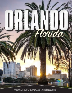 Orlando Florida brochure cover.