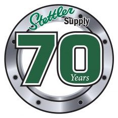 Stettler Supply Company logo.