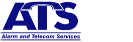 ATS logo. Alarm and Telecom Services.