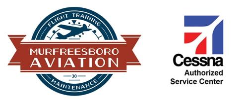 Murefreesboro Aviation logo. Cessna authorized service center.