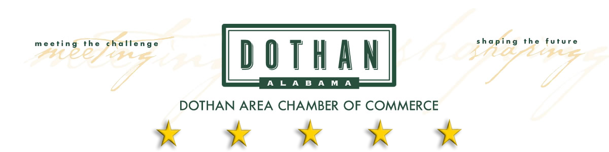 Dothan Area Chamber of Commerce logo.