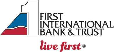 First International Bank & Trust logo.