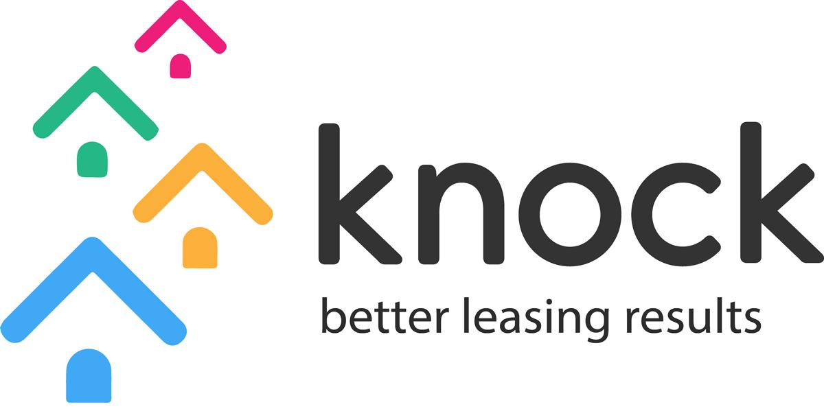 Knock Rentals logo.