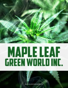 Maple Leaf Green World Inc. brochure cover.