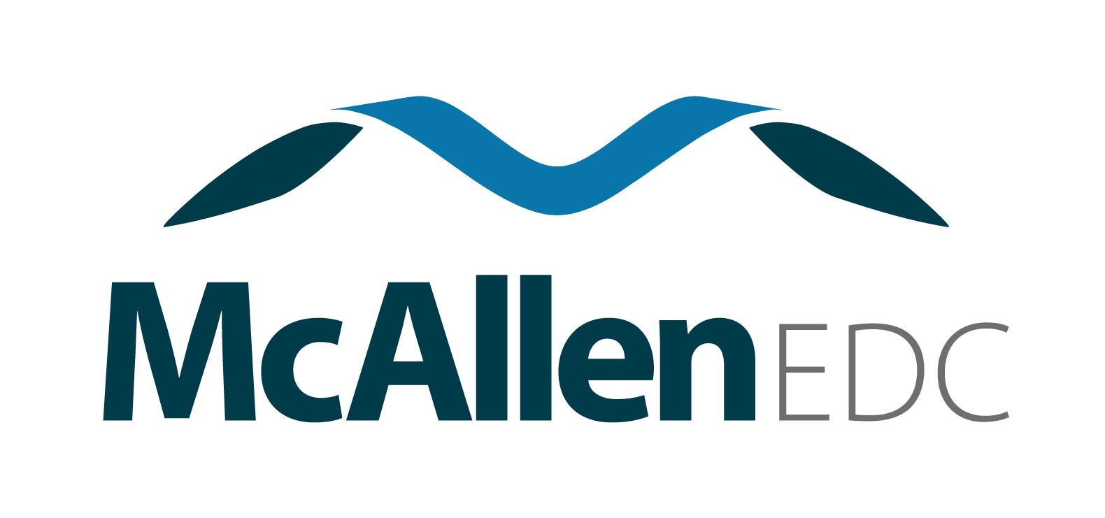 McAllen Texas, McAllen Economic Development Corporation logo.