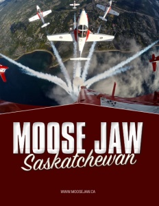 Moose Jaw, Saskatchewan brochure cover.