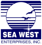 Sea West Enterprises, Inc. logo.