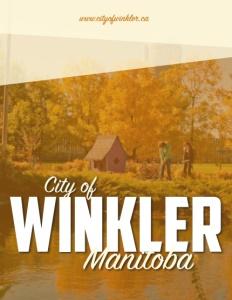 Winkler Manitoba brochure cover.