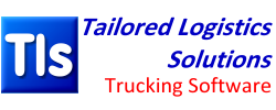 Tls, Tailored Logistics Solutions Trucking Software logo.
