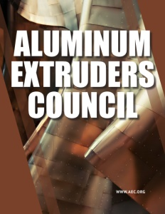 Aluminum Extruders Council brochure cover.