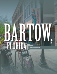 Bartow, Florida brochure cover.
