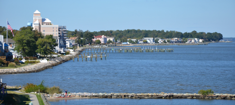 Calvert County, Maryland North Beach.