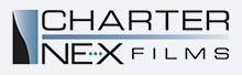 Charter NEX Films logo.