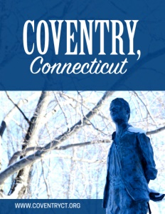 Coventry, Connecticut brochure cover.