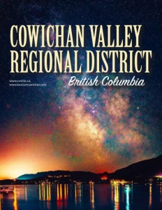 Cowichan Valley Regional District, British Columbia brochure cover.