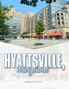 Hyattsville, Maryland brochure cover.