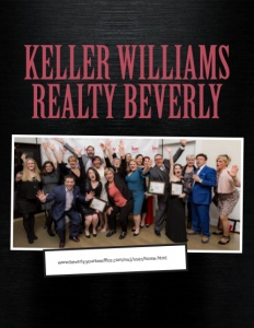 Keller Williams Realty Beverly brochure cover.