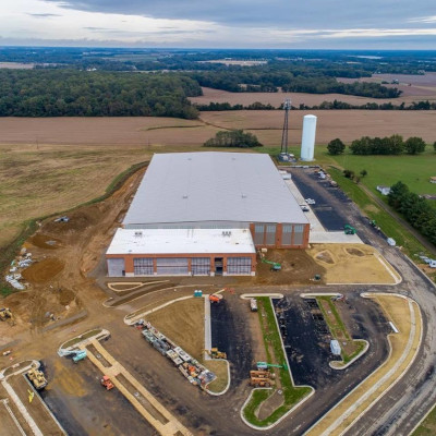 Kent County, Maryland KRM Construction distribution center.