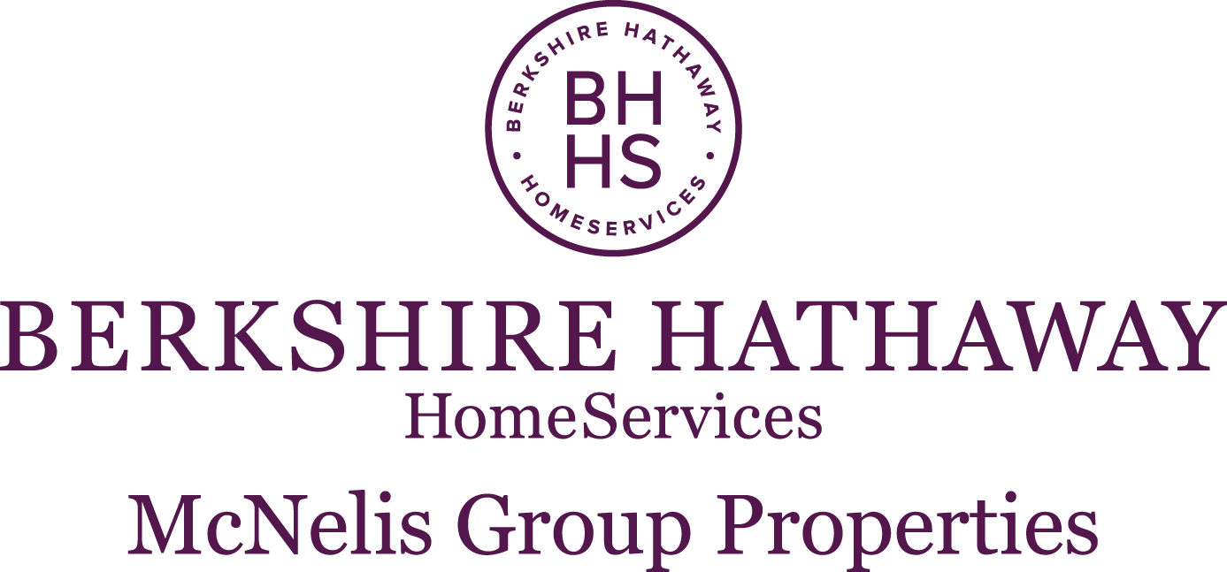 Berkshire Hathaway HomeServices McNelis Group Properties logo.