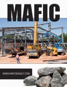 Mafic brochure cover.
