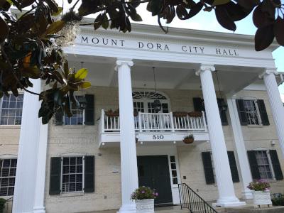 Mount Dora, FL city hall.
