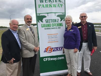 Mount Dora, FL Wekiva Parkway Section 2 Grand Opening.
