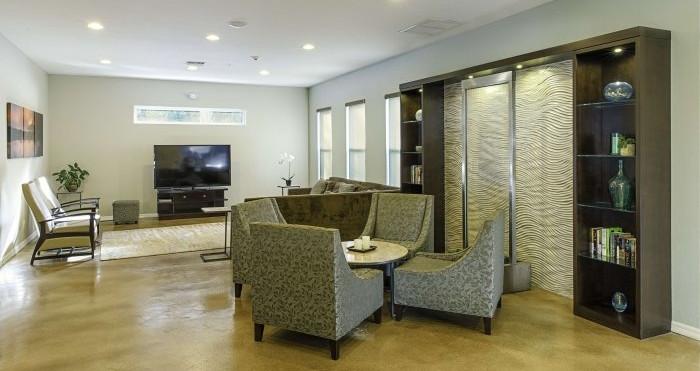 Novus Medical Detox Centers interior public area.