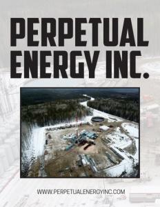 Perpetual Energy Inc. brochure cover.