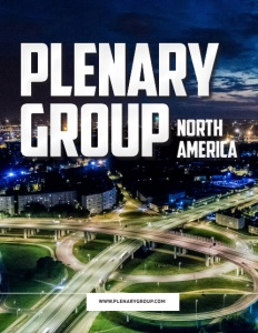 Plenary Group North America brochure cover.