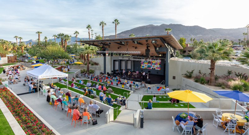 Rancho Mirage, California Amphitheater..