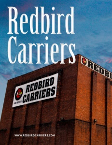 Redbird Carriers brochure cover.