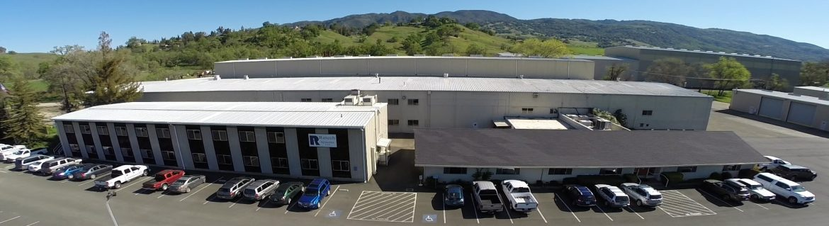 Retech Systems LLC building aerial view.
