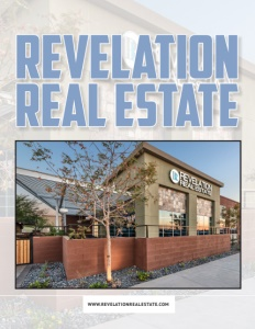Revelation Real Estate brochure cover.