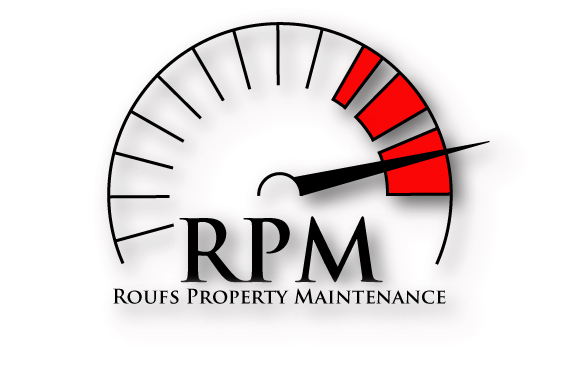 RPM Roufs Property Maintenance logo.
