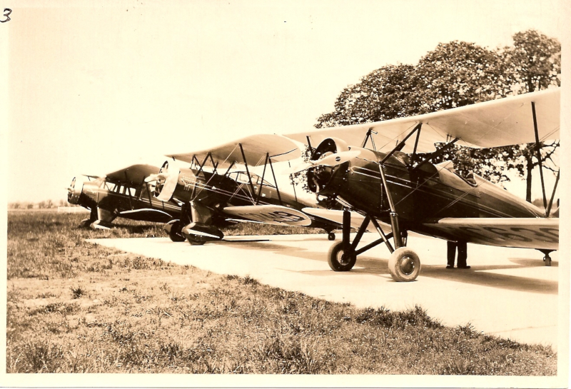Salem Airport Locally Based Aircraft 1930s.