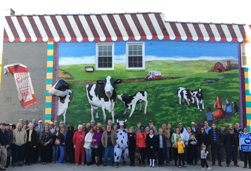 Sanford, North Carolina Fairview Dairy Dedication