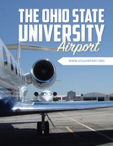 The Ohio State University Airport brochure cover.