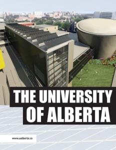 The University of Alberta brochure cover.