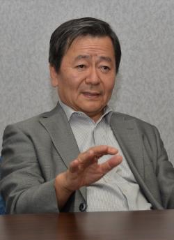 Wakunaga of America President and CEO Kazuhiko Nomura.