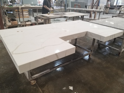Agco Inc. Craftmark Solid Surfaces Inc. island fabrication.