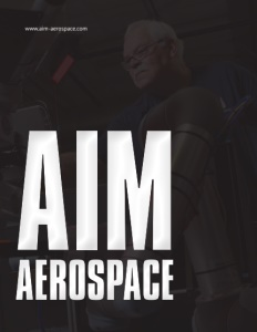 AIM Aerospace brochure cover.
