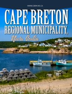 Cape Breton Regional Municipality, Nova Scotia brochure cover.