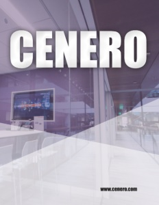 Cenero brochure cover.
