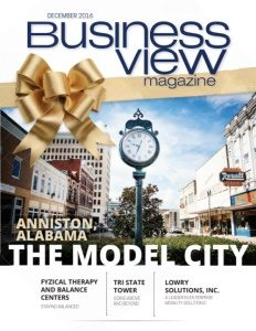 December 2016 Issue cover of Business View Magazine.