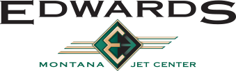 Edwards Jet Center logo.