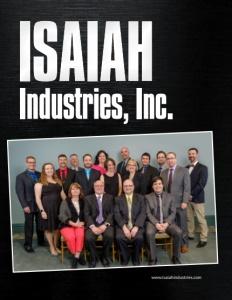 Isaiah Industries brochure cover.